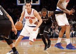 Knicks vs Nets at Madison Square Garden