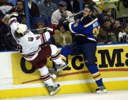 PHOENIX COYOTES VS ST. LOUIS BLUES HOCKEY