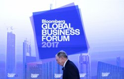 Bill Clinton at Bloomberg Global Business Forum