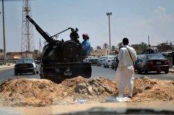 Libyan Rebels Search on Moammar Gaddafi After taking Tripoli