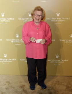Dr. Ruth Westheimer arrives at the 2011 Rolex Mentor & Protege Arts Initiative at Lincoln Center in New York