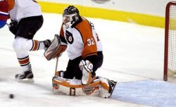 Montreal Canadians at Philadelphia Flyers NHL Hockey