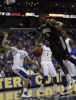 Kentucky vs Vanderbilt in the NCAA SEC Men's Basketball Championship in New Orleans