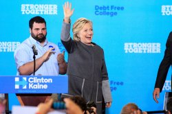 Hillary Clinton in Durham, New Hampshire