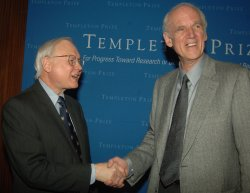 PROFESSOR TAYLOR WINS 2007 TEMPLETON PRIZE IN NEW YORK
