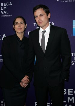 "Casey Affleck and Summer Phoenix arrive for the Premiere of ""The Killer Inside Me"" at the Tribeca Film Festival in New York"