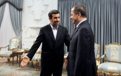 Iraqi Kurd Leader Masoud Barzani in Tehran