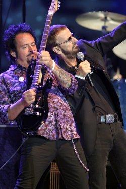 Ringo Starr performs in Florida