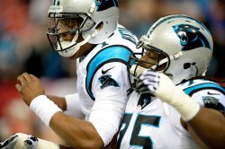 The Atlanta Falcons play the Carolina Panthers