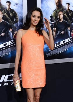 "Emma Heming Willis attends the ""G.I Joe: Retaliation"" premiere in Los Angeles"