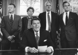 President Reagan Delivers Statement on Aid to Nicaraguan Rebels