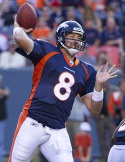 Denver Broncos Host the Buffalo Bills in Denver