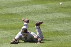 Rockies Break Up No-Hit Game with Triple Past Giants Cabrera in Denver