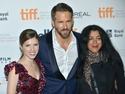Anna Kendrick, Ryan Reynolds and Marjane Satrapi attend 'The Voices' premiere at the Toronto International Film Festival
