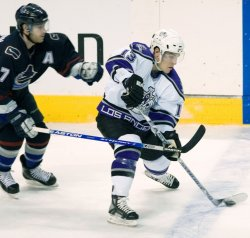 LOS ANGELES KINGS VS VANCOUVER CANUCKS