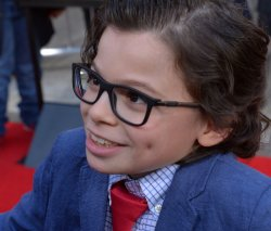 "Raphael Alejandro attends the ""How to Be a Latin Lover"" premiere in Los Angeles"