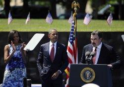 Pres. Obama attends Memorial Day ceremony at the Vietnam Veterans Memorial in Washington