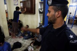 Sixty of Palestinians Illegal migrants Back to Gaza