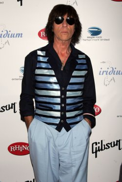 "Jeff Beck arrives for ""A Celebration of Les Paul"" concert in New York"