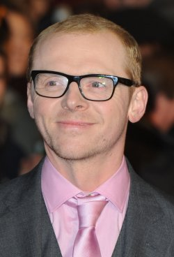 "Simon Pegg attends ""Paul"" premiere"