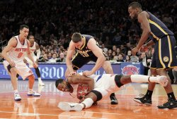 Knicks vs Pacers at Madison Square Garden