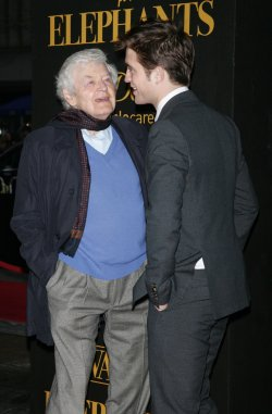 """Robert Pattinson and Hal Holbrook arrive for the """"Water For Elephants"""" Premiere in New York"""