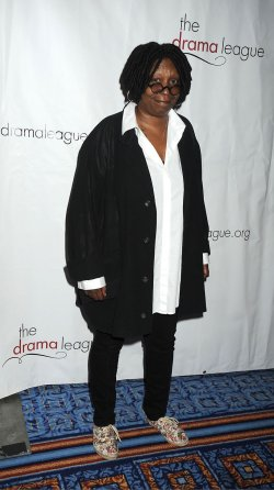 Whoopi Goldberg arrives for the Drama League Awards Ceremony and Luncheon