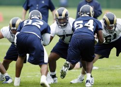 St. Louis Rams begin mini camp