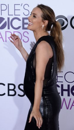 Camilla Luddington attends the 43rd annual People's Choice Awards in Los Angeles
