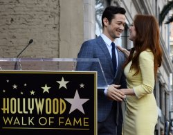 Julianne Moore receives star on Hollywood Walk of Fame in Los Angeles
