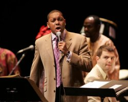 WYNTON MARSALIS CONDUCTS THE LINCOLN CENTER JAZZ ORCHESTRA