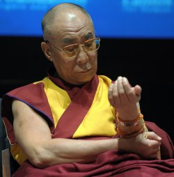 Dalai Lama honored with first ever Lantos Human Rights Prize in Washington
