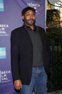"Jesse L. Martin arrives for the Tribeca Film Festival Premiere of ""Puncture"" in New York"
