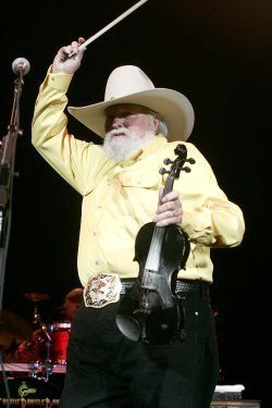 CHARLIE DANIELS PERFORMS IN CONCERT IN FLORIDA