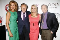 Hoda Kotb, Larry King, Kathie Lee Gifford and Dick Cavett arrive for the Friars Club Roast of Betty White in New York