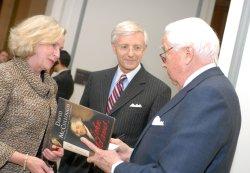 "Creators of HBO series ""John Adams"" visit Capitol Hill in Washington"