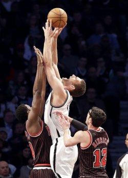 Nets vs Bulls at the Barclays Center