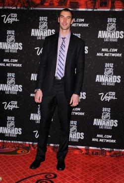 Zdeno Chara arrives at the 2012 NHL Awards in Las Vegas