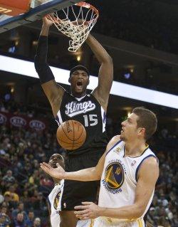 Golden State Warriors vs Sacramento Kings in Oakland, California