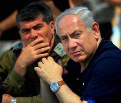 Israeli PM Netanyahu observes military exercise in Israel