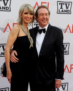Tania Kosevich and Eric Idol arrive at the AFI Lifetime Achievement Awards in Culver City, California