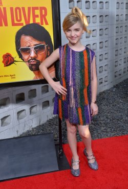 "Mckenna Grace attends the ""How to Be a Latin Lover"" premiere in Los Angeles"