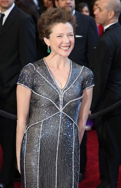 Annette Bening arrives for the 83rd annual Academy Awards in Hollywood