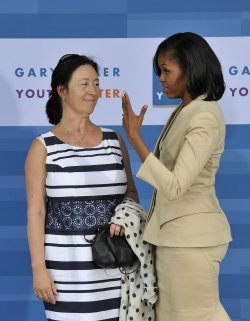 First Lady Michelle Obama Tours Chicago with NATO Leaders Spouses