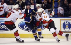 CALGARY FLAMES VS ST. LOUIS BLUES HOCKEY
