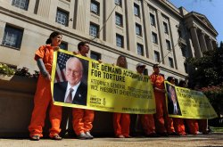 Amnesty International calls for torture investigation of Bush, Cheney in Washington