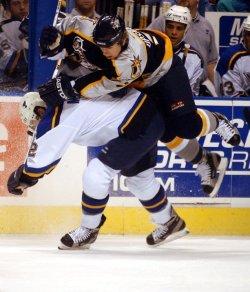Nashville Predators vs St. Louis Blues hockey