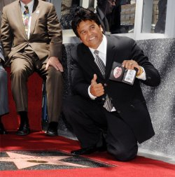 ACTOR ERIK ESTRADA RECEIVES STAR ON HOLLYWOOD WALK OF FAME IN LOS ANGELES
