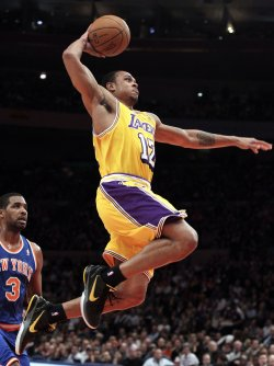 Los Angeles Lakers Kobe Bryant at Madison Square Garden in New York