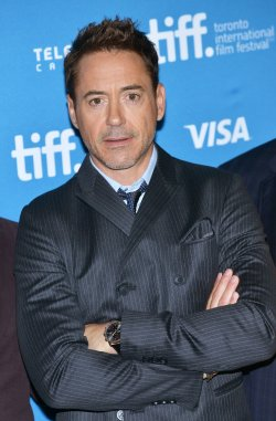 Robert Downey Jr attends 'The Judge' photocall at the Toronto International Film Festival